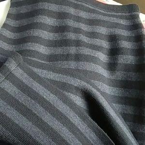 Ann Taylor Stripe Knit Skirt